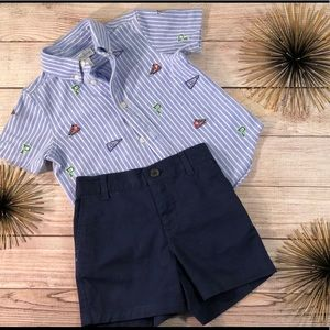 Baby Boy Ralph Polo Lauren Outfit